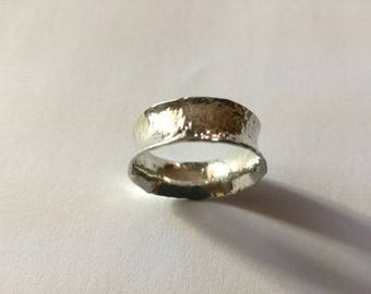 Hammer forged ring