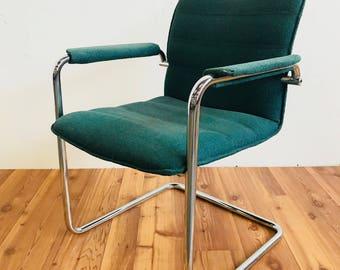 Davis Cantilever Side Chair (Jade)