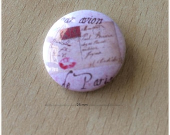 "badge 25 mm ""Paris 03"""