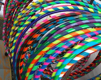 Kids Hula Hoop--Custom created sturdy durable hdpe