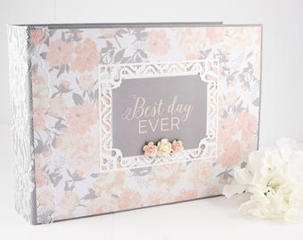 Premade Scrapbook  Wedding Scrapbook Album  Wedding Gift  Elegant Wedding  Album  Relationship AlbumWedding scrapbook   Etsy. Premade Wedding Scrapbook. Home Design Ideas
