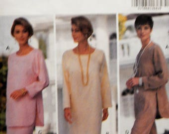 Butterick 6206 Fast & Easy pullover dress, tunic, skirt and pants pattern Sizes 12, 14 and 16