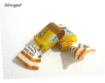 X 1 caramel nougat fimo