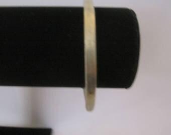 Thick Brass Bracelet