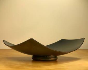 Large Floating Steel Bowl