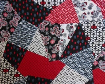 Anniversary Sale Rendezvous~Crazy Shapes~ Cotton Fabric, Quilt, by Henry Glass,Fast Shipping, MD265