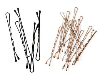 5cm gold bobby pin for hair
