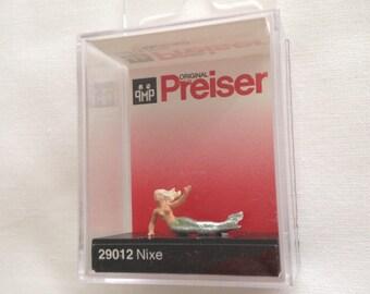 1pc 2.2x1.1cm showcase figurine miniature Mermaid embellishments