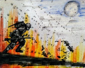 Original ~ Run Through Death Valley, Paul Isen