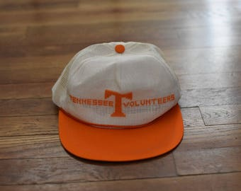 Vintage 80's Tennessee Vols Snap Back Hat