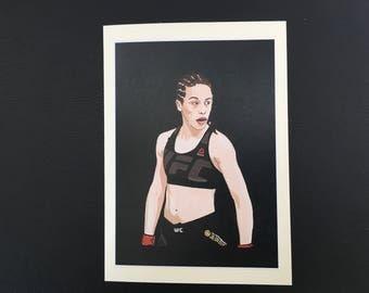 Joanna Jedrzejczyk UFC greetings card birthday WMMA Valentines