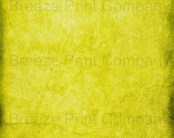 Yellow distressed pattern printed craft  vinyl sheet - HTV or Adhesive Vinyl -  antiqued vintage grunge HTV4710
