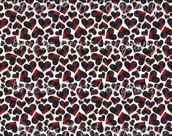 Watercolor HTV galaxy heart pattern craft craft  vinyl sheet - HTV or Adhesive Vinyl -  Valentine's Day HTV3959