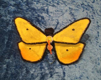 Butterfly Ornament - Housewarming Gift - Birthday Gift - Yellow and Orange
