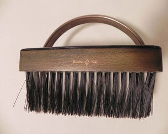 vintage and unique horse grooming brush