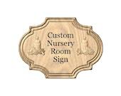 Custom Nursery Room Sign,...