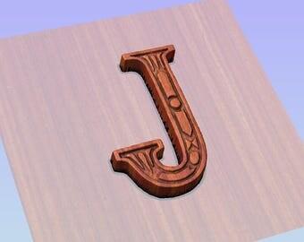 Wood letter j etsy for Furniture 6 letters