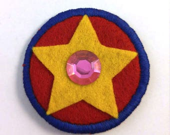 Steven Universe Crystal Gem Steven Badge Pin Button Patch