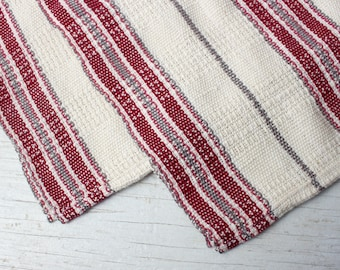Large Handwoven kitchen 100% cotton towel | Tea towel | Zero waste