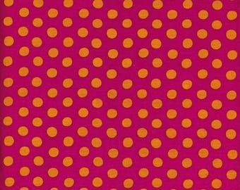 SPOT MAGENTA GP70 Kaffe Fassett sold in 1/2 yard increments
