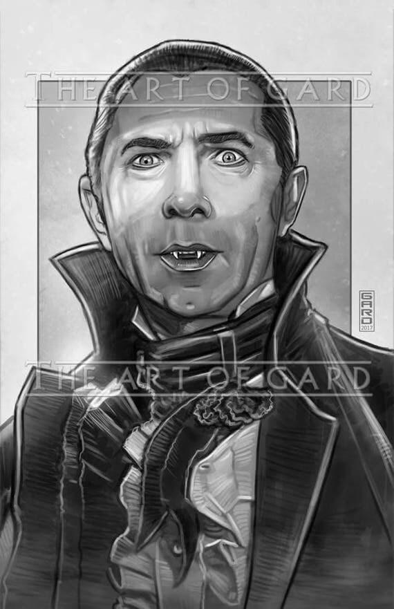 Count Dracula, Bela Lugosi Art Print