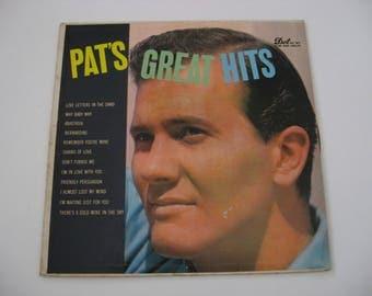 Pat Boone - Great Hits - Circa 1956