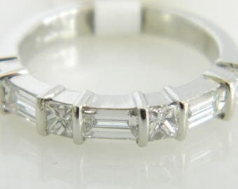 Beautiful Platinum Diamond Wedding Band