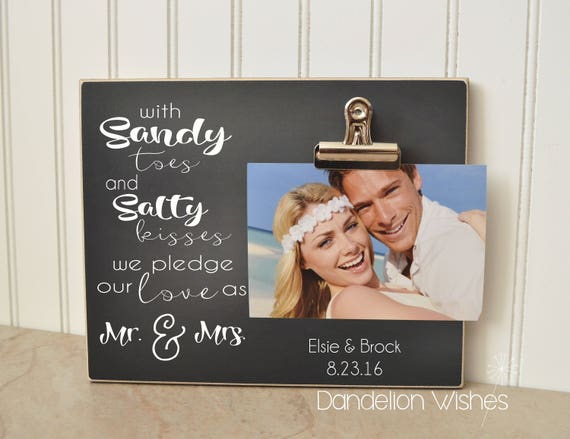 like this item - Mr And Mrs Picture Frame
