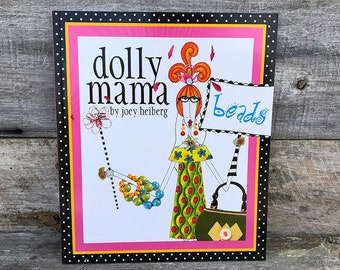 Book - Dolly Mama Beads by Joey Heiberg **CLOSEOUT**