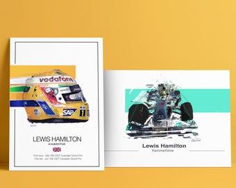 Lewis Hamilton Artwork Gifts - F1 art