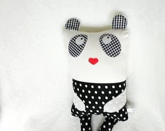 Panda Cuddle Buddy - Baby pillow / cushion - Toddler pillow / cushion - cute animal