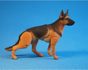 BJD dog: German shepherd.
