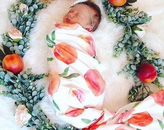 Peach Baby Pouch