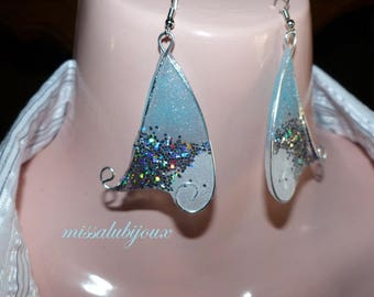 fairy wings earrings