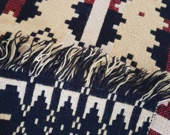 Brynkir Vintage Welsh Wool Blanket