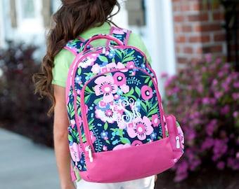 Monogram Backpack,  Personalized Backpack, Girls Backpack, School Backpack, Back to School, Bookbag, College Backpack, Monogram Bookbag