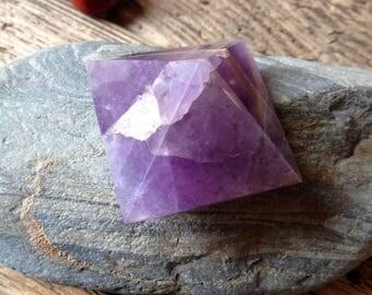 Amethyst Gemstone Crystal Pyramid