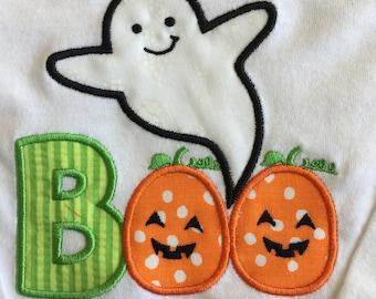 Toddler/Baby Boo Halloween Long sleeve T-shirt or Onesie