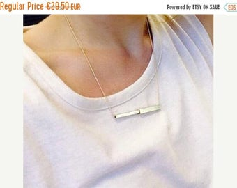 On Sale Tube necklace | Gold plated & Silver plated
