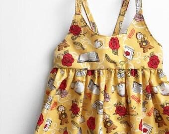 SALE!! belle & friends dress - beauty and the beast Disney dress