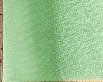 "Sage Green Ponte de Roma Novelty Fabric 2 Way Stretch Polyester 11 Oz 60-62"" 230610"