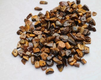 1 packet of Tiger eye stone bead