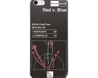 Kentucky Basketball iPhone Case: Red v. Blue (2012)