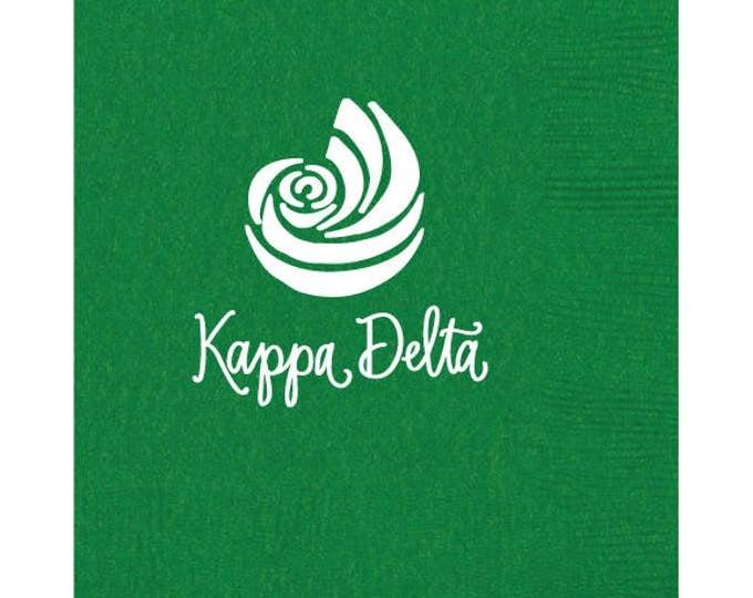 Kappa Delta Luncheon Napkins (Qty 25)