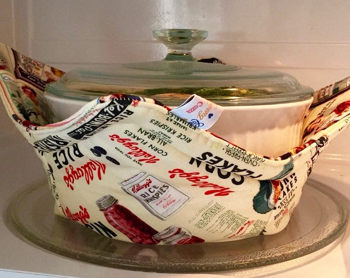 Microwave bowl cozies SET OF THREE