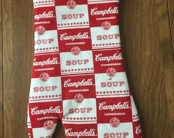 Campbells Soup Oven Mitt