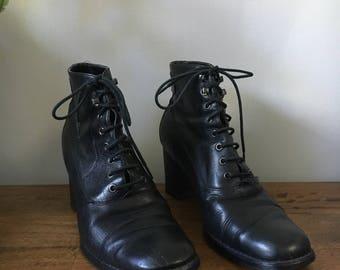 90s Liz Claiborne Ankle Boots