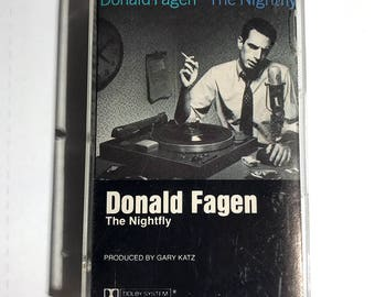 Donald Fagan The Nightfly cassette tape 1982 Steely Dan related