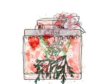 Chloe Eau De Parfum Perfume Print