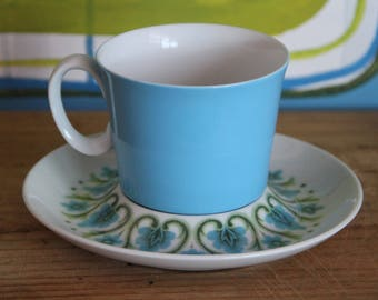 "Vintage Bone China Tea Cup and Saucer ""fashion Manor"""